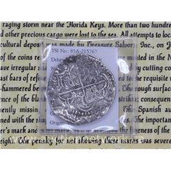 'Rare Scarce' 'Shipwreck Coin' Recovered from 'ATOCHA' '8 REALE - Phillip III' 'Ship Sank in 1622' w