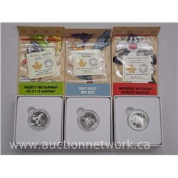 3x .9999 Fine Pure Silver Looney Tunes - $10.00 with Certificates. (ATTN: 3 Times the bid price)