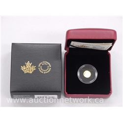 .9999 Fine Pure Gold Coin 'Arctic Fox'