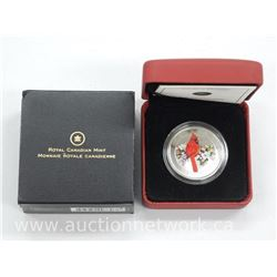 2008 - Royal Canadian Mint Rare 'Northern Cardinal' (Sold Out) 25 Cent Coin Limited Edition with Cer