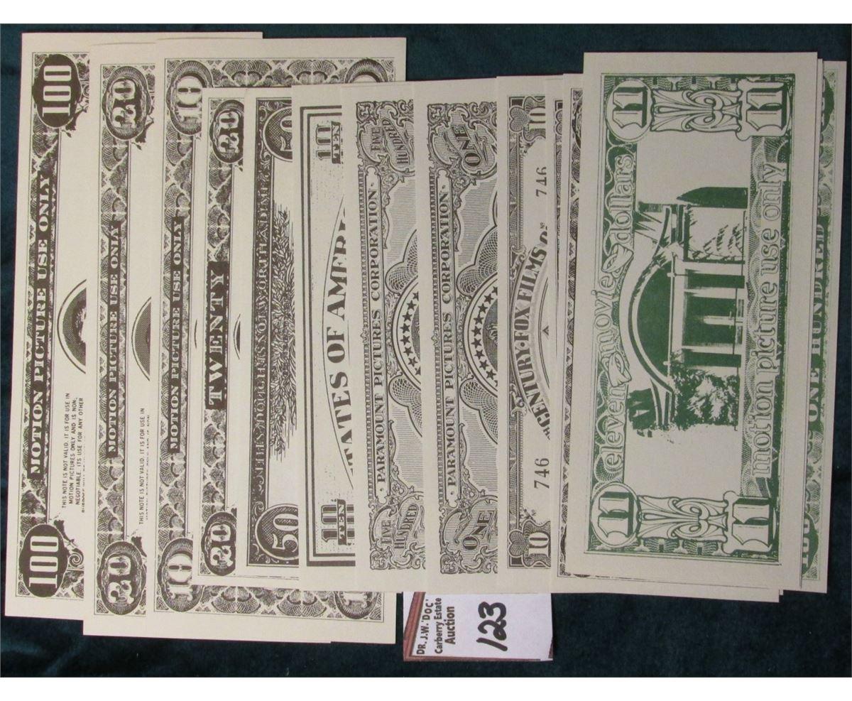 PARAMOUNT MOTION PICTURE STUDIOS HOLLYWOOD CALIF SOUVENIR MONEY CLIP