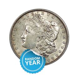 Common Date $1 Morgan Silver Dollar Pre-1921 Uncirculated