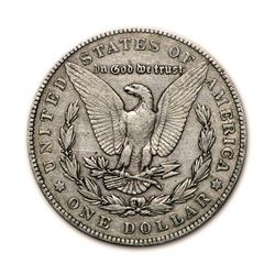 1904 $1 Morgan Silver Dollar VG