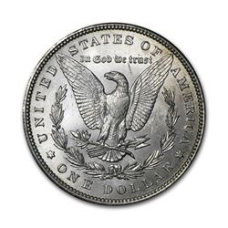 1891 $1 Morgan Silver Dollar AU