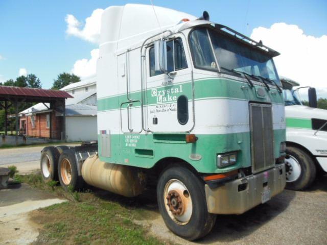 1996 PETERBILT 362 TRUCK TRACTOR, VIN/SN:TD609341 - T/A, DETROIT DIESEL  ENG, 10 SPD TRANS, 38K REARS
