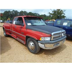 1996 dodge ram 3500 pickup vin sn 3b7mc33c6th183499 cummins turbo diesel engine a t extended ca 1996 dodge ram 3500 pickup vin sn
