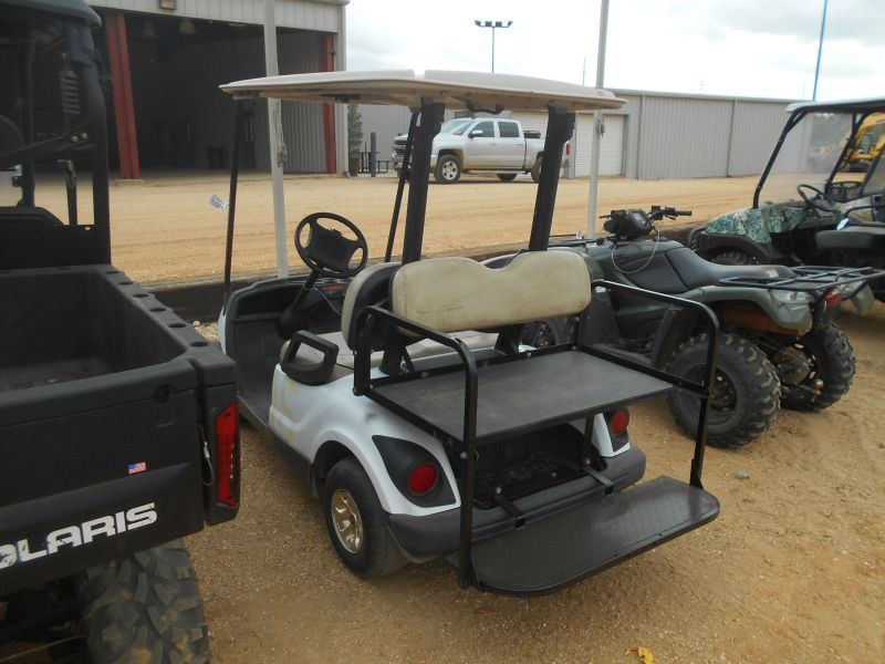 2010 YAMAHA GOLF CART, VIN/SN:JW2310445 - CANOPY, REAR SEAT