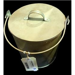 * Antique Cooper Glue Pot with Lid