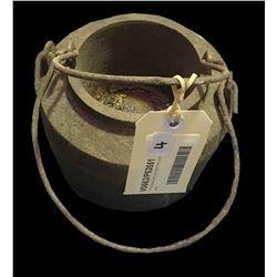 * Antique Cast Iron Glue Pot with Liner