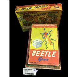 * Three Vintage Games / Toys Inc. Mr Potato Head