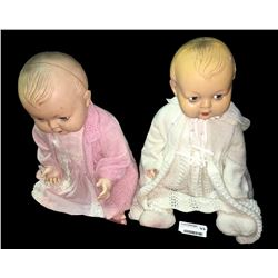 * Pair of Vintage Collectable Kader Dolls