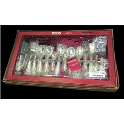 Boxed Set of Rodd Silverware 'Camille' Cutlery - As New