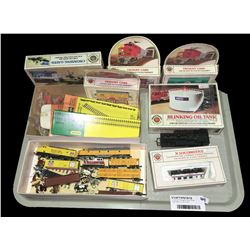 * Tray Lot - Vintage H Scale Model Train Items Inc. Bachmann