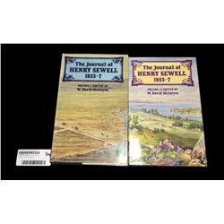 * The Journals of Henry Sewell 1853-7 Vol I & II Books