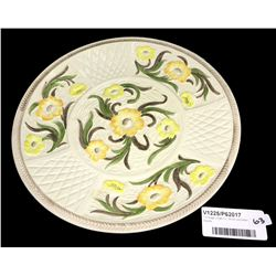 * Vintage Large H.J. Wood Jacobean Display Plate