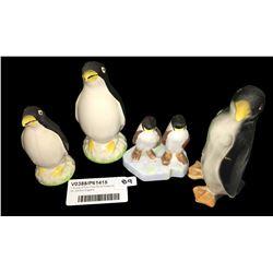 * Group of Four Fine China Penguins Inc. Denton England