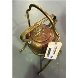 * Brass & Copper Samovar
