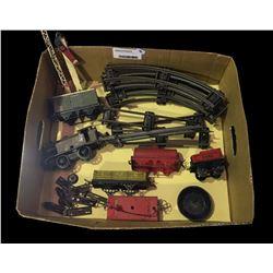 * Antique Wind Up Hornby Train Set (Faults)