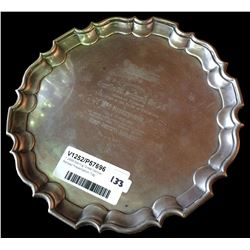 * 1899 Sterling 'Great Central Railway' Presentation Tray