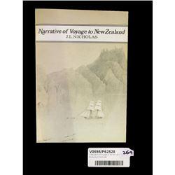 * Narrative of Voyage to NZ Vol I & II Books by JL Nicholas