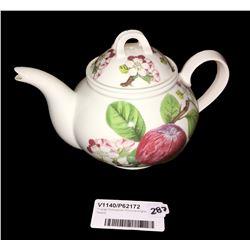 * Large Portmeirion Pomona English Teapot