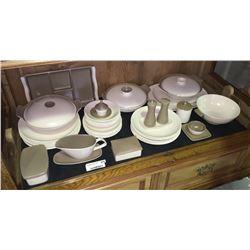 * Vintage Poole Mid-Century Twintone Dinner Set