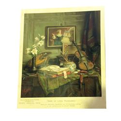 * 1907 Pears Chromolithograph 'Some of Life's Pleasures'