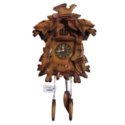 * Large German Style Cuckoo Clock