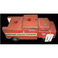 * Triang Steel Body Airport Crash Tender Truck