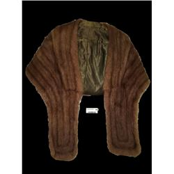 * Vintage Light Brown Fur Shoal