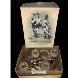 * Early Boxed Set of Hudora- Rollschuhe Roller-skates