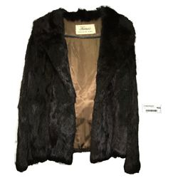 * Farmers Exclusive Vintage Black Fur Jacket