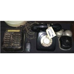 * Vintage Black Bakelite Phone Setup with Party Call Centre