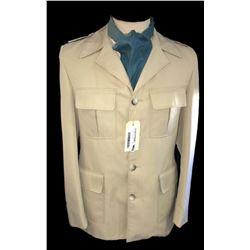* Vintage Beige Jacket on Vintage Mannequin with Stand