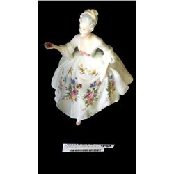* Royal Doulton 'Diane' Figurine by Peggy Davies