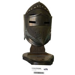* 1960's Medieval Knight Helmet with Cone Face