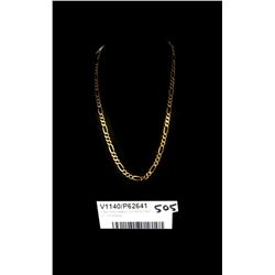 * 9ct Gold Heavy Link Gold Chain (17.70 Grams)