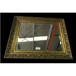 * Large Vintage Majestic Gilt Framed Mirror