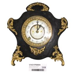 * 1881 USA Ansonia Double Movement Mantel Clock