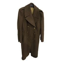 * Vintage Olive Army Officer's Coat