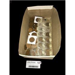 * Box Pennies & Half Pennies Inc. Australian 1920,1940,941