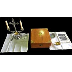 * Vintage Boxed Official & Rubrical Sacramental Service Kit
