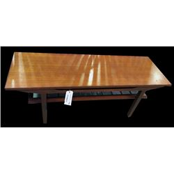 * Mid Century Don Lorong Mahogany Coffee Table