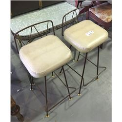 * Pair of Retro Bar Stools