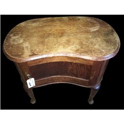 * Kidney Shaped Occasional Cabinet