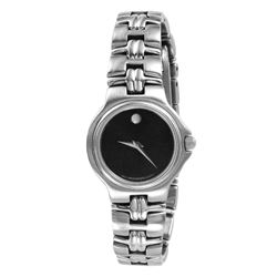 Movado Museum Lady's Watch with Black Dial - #1370