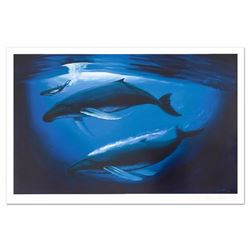 A Sea of Life Limited Edition Lithograph by Renowned Artist Wyland, Numbered and Hand Signed with Ce