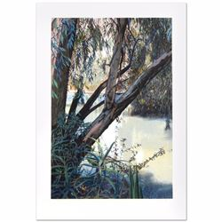"""Jordan River Limited Edition Serigraph (25"""" x 36"""") by Marcus Uzilevsky, Numbered and Hand Signed wit"""