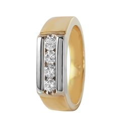 14KT Yellow Gold Diamond Ring - #462