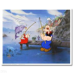 The Big One Limited Edition Hand Painted Animation Cel! Numbered and Hand Signed by Myron Waldman (1